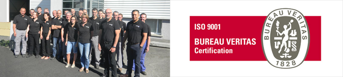 Fayolle SAS - Certification ISO