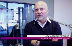 Jean-Marc DEFOUR, dirigeant de Foyolle Chaudronnerie, nous présente le nouveau transstockeur