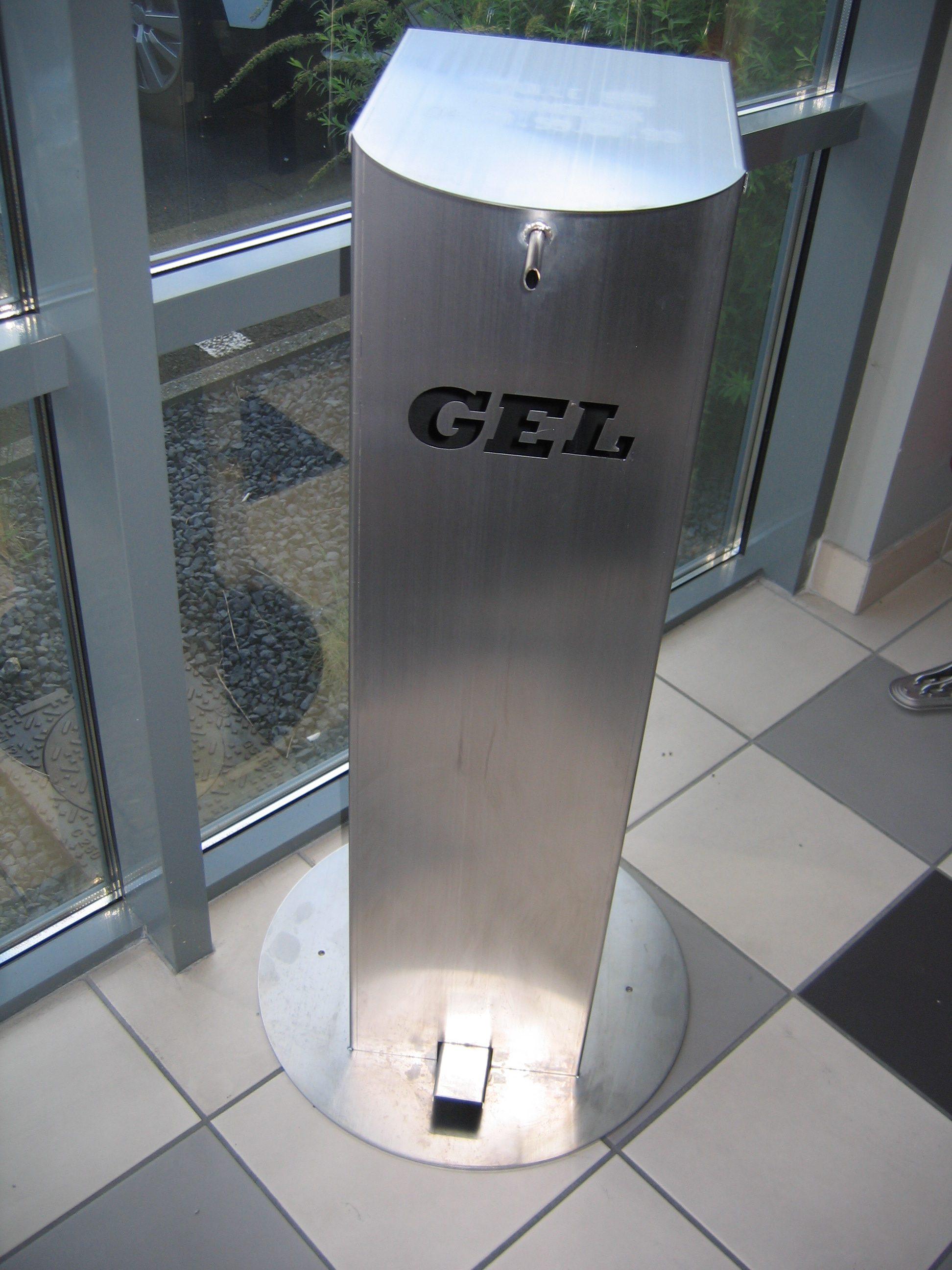 Distributeur de Gel Hydroalcoolique grande capacité (5 litres)